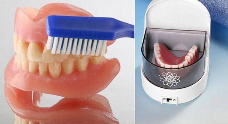 Как правильно ухаживать и хранить зубные протезы
