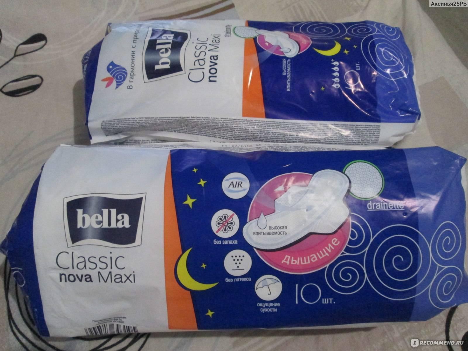 Как часто меняются прокладки при менструации в норме