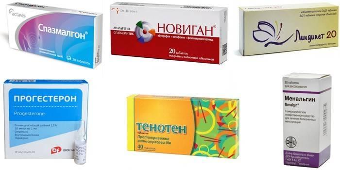 Какие обезболивающие таблетки применять при месячных