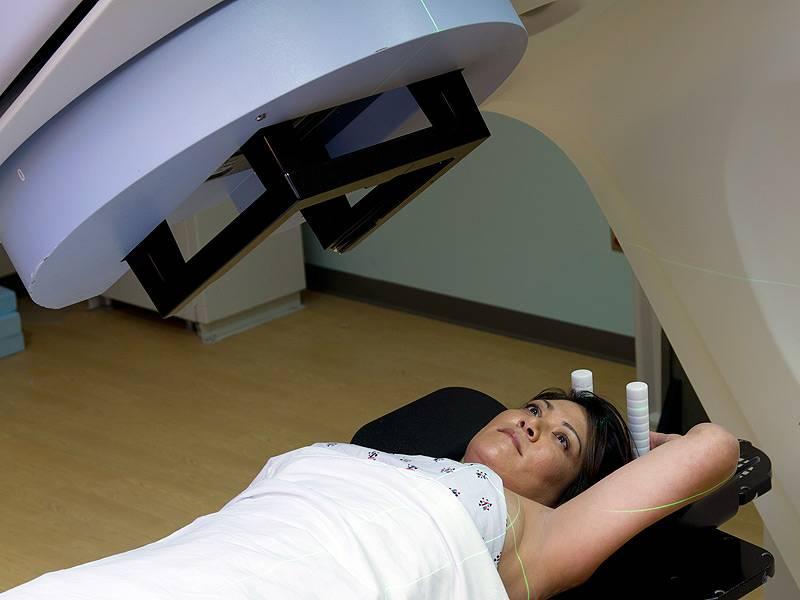 Последствия лучевой терапии при раке молочной железы