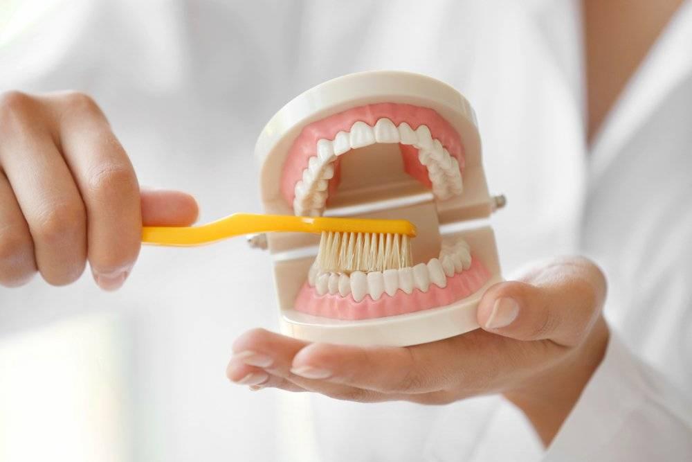 Способы очистки зубных протезов в домашних условиях