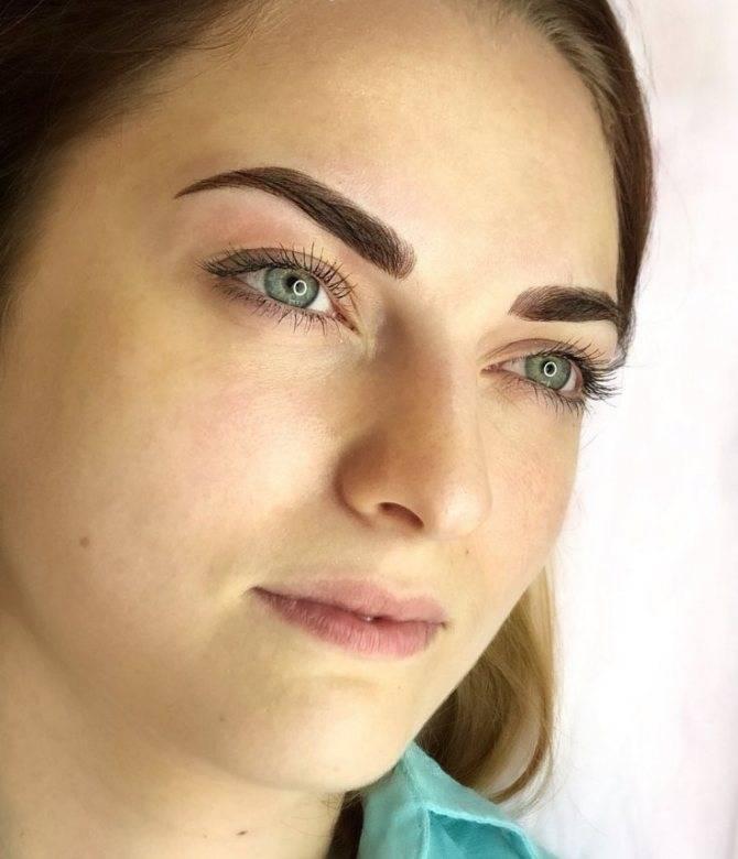 Модный татуаж бровей для женщин. 150 фотографий перманентного мейк-апа.