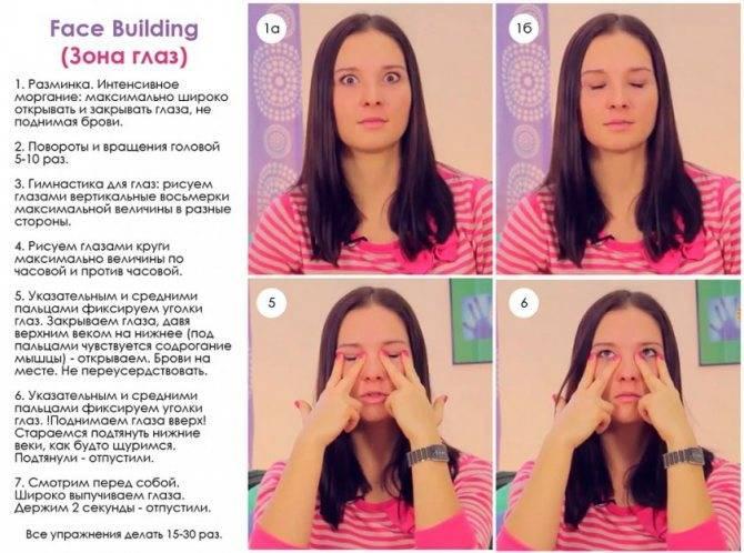 Применение йоги для лица