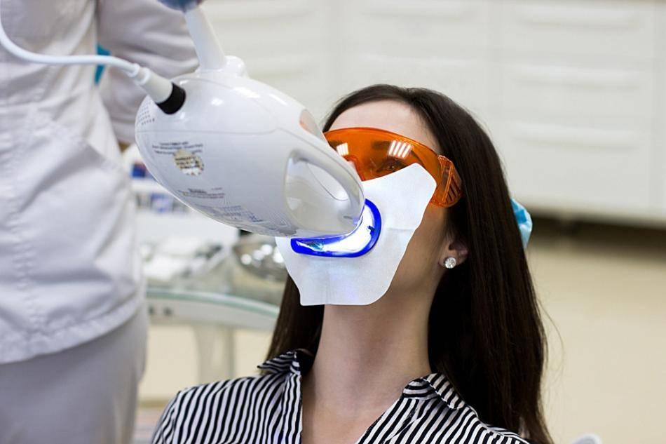 Отбеливание зубов системой zoom