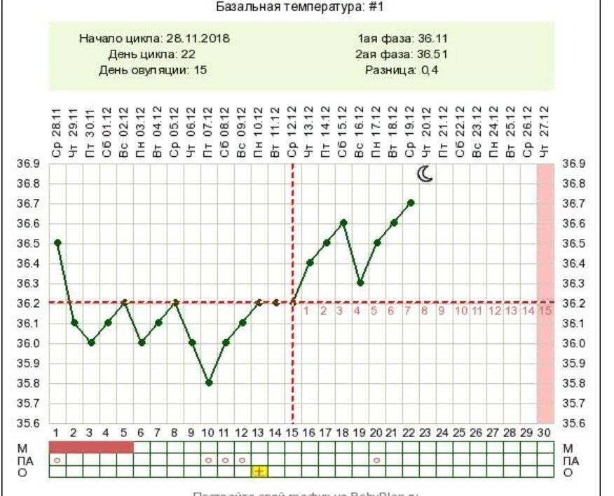 Измерение базальной температуры: проверенный метод планирования беременности
