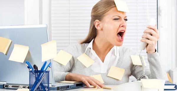 стресс от работы